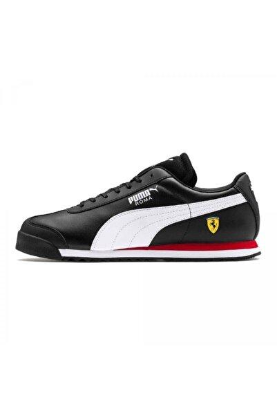 Puma Erkek Siyah Ferrari Roma Spor Ayakkabı