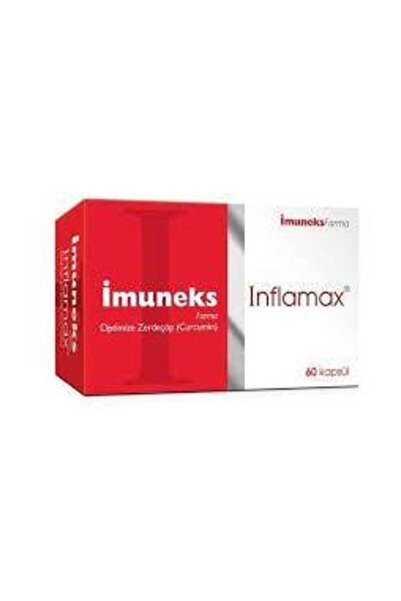 Imuneks Inflamax Zerdeçöp Curcumin 60 Kapsül