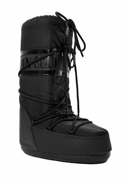 MOON BOOT Kadın 14023300-001 Moon Boot Classic Plus  Black