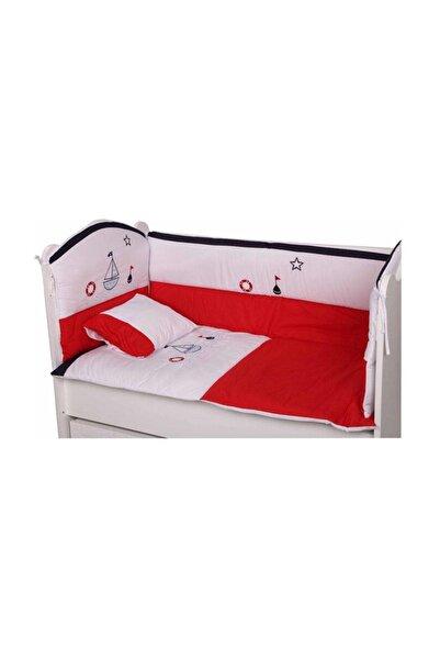 BabyHope Bebek Uyku Seti - Kırmızı Gemici 60*120