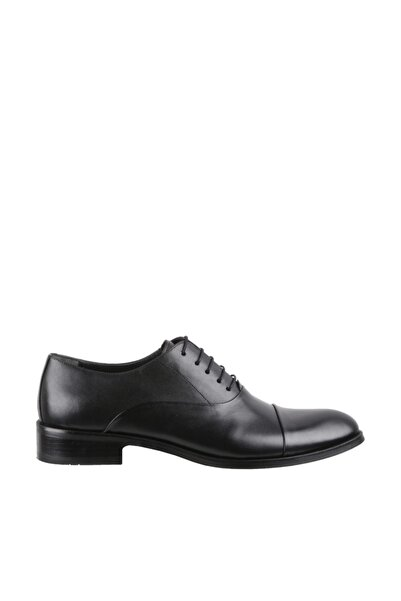 Elegante Erkek Italy Klasik Ayakkabı 199-SİYAH-ANTİK