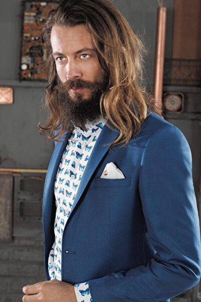 COMİENZO Erkek  Mavi Ceket-21167