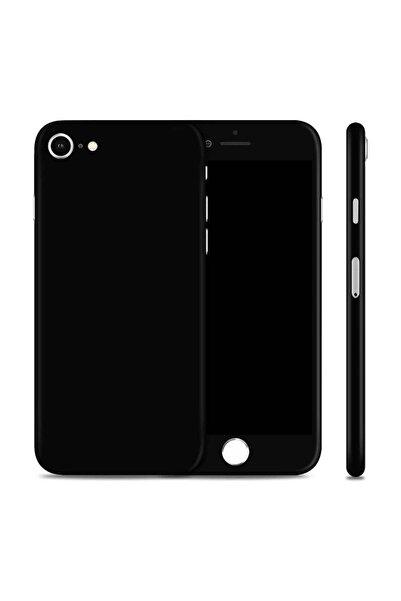 Renkli Garaj iPhone 7 Mat Siyah Telefon Kaplama