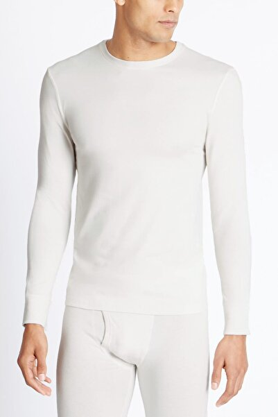 Marks & Spencer Erkek Bej 2'li Heatgen™ Uzun Kollu Termal Atlet Seti T14009410