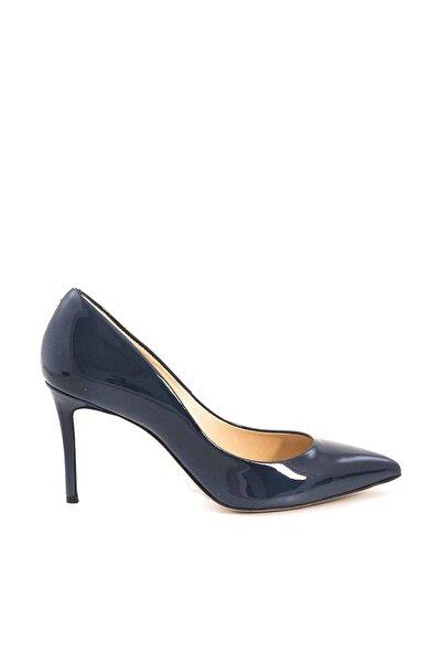 ROUGE Lacivertvert Kadın Klasik Topuklu Ayakkabı  182Rgk720 4924-02