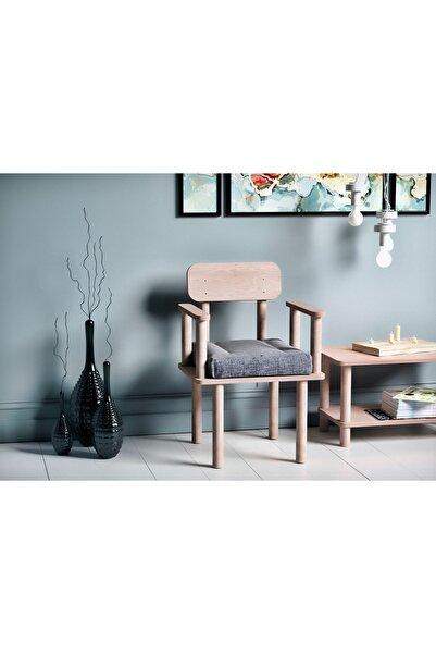 VUDIVA Magnesia Kolçaklı Sandalye Gri