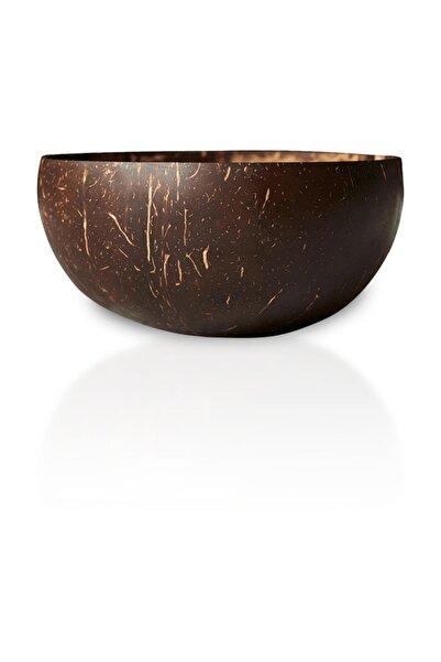 Wefood El Yapımı Klasik Jumbo Hindistan Cevizi Kasesi (Coconut Bowl)