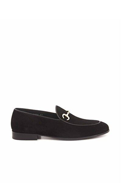 MOCASSINI Siyah Süet Erkek Loafer Ayakkabı  191Mcge303 5000-1