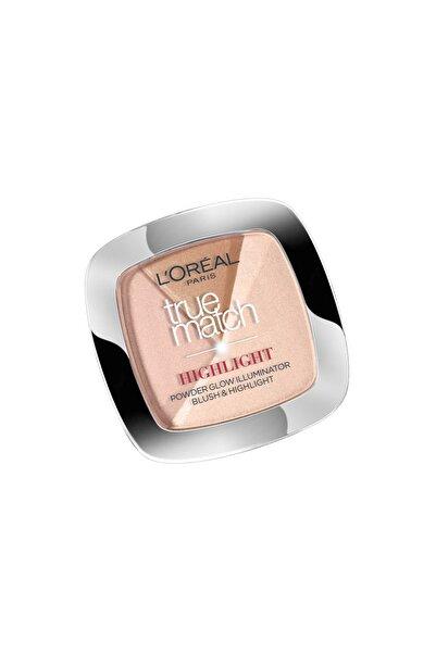 L'Oreal Paris Aydınlatıcı Pudra - True Match Highlight Powder 102D/102W Golden Glow 3600523300426