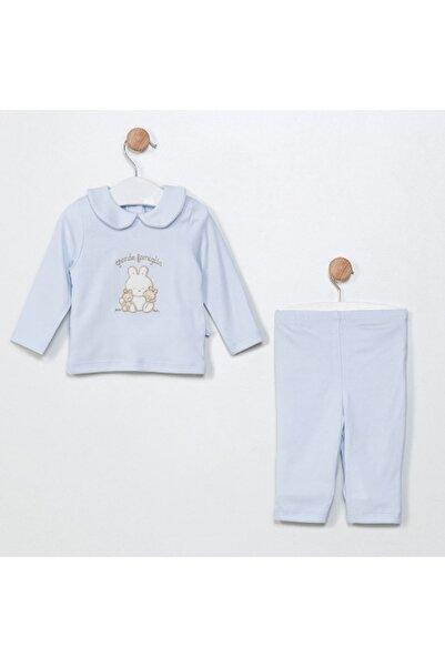 Funna Baby Pijama Takım -  Grande Famiglia - Mavi