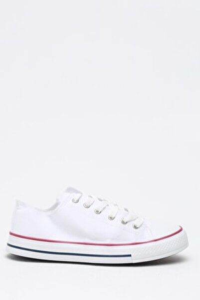 Beyaz Kırmızı Kadın Ayakkabı M9999-19-100165R