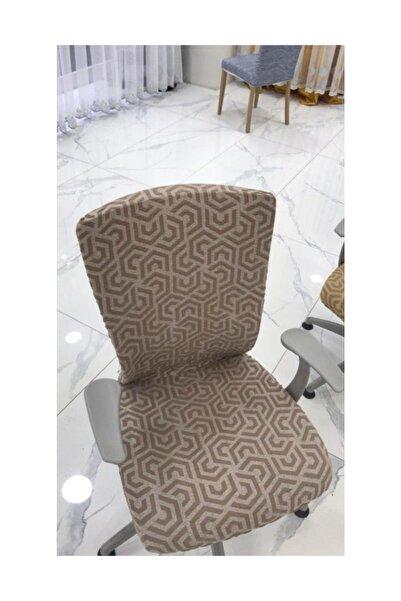 Elegante Sandalye Kılıfı  Pratik 6 lı 1020