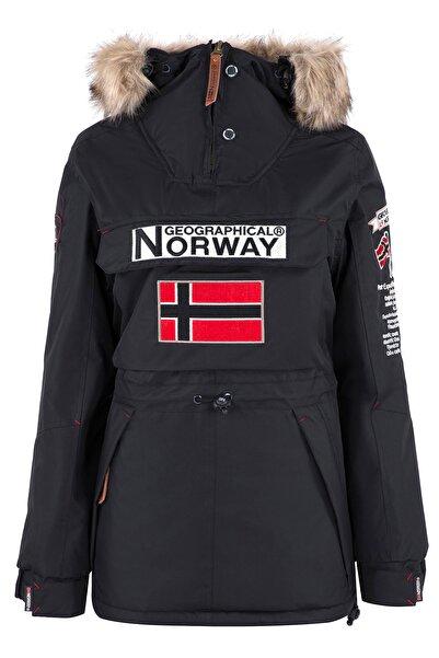 Norway Geographical Kadın Siyah Parka BOOMERA