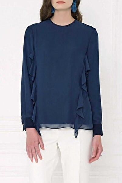 Kadın Lacivert Bluz 20K022389504-014