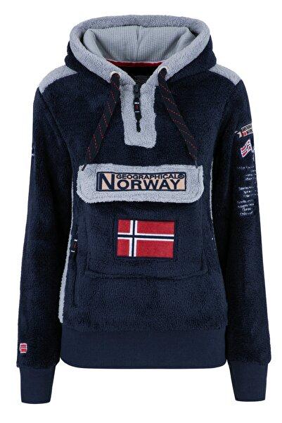 Norway Geographical Kadın Lacivert Sweatshirt GYMCLASS