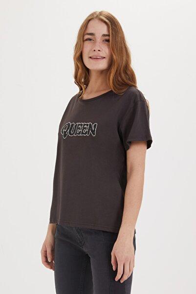Lee Cooper Kadın Tori O Yaka T-Shirt 192 LCF 242008