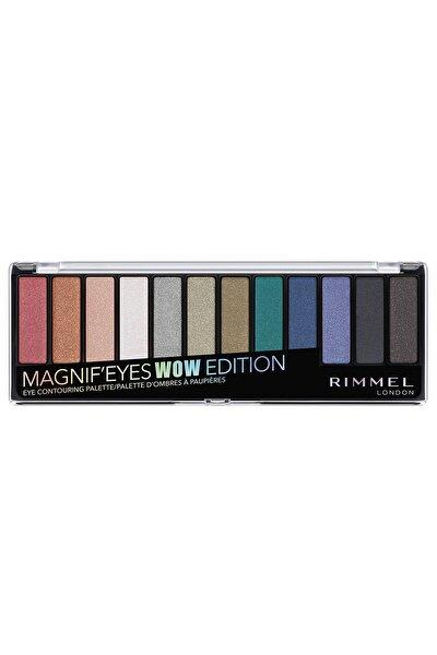 RIMMEL LONDON Far Paleti - Magnif'Eyes Eyeshadow Palette 006 Wow Edition 3614226342898