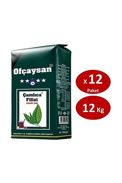 Ofçay Çamlıca Filiz Çayı 1 kg x 12 Paket