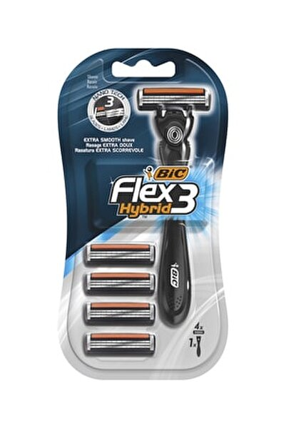 Flex 3 Hybrid Tıraş Bıçağı 4 Kartuşlu (3 Bıçak)