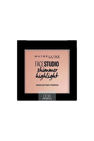 Maybelline New York Aydınlatıcı - Face Studio Shimmer Highlight 006 Prosecco 3600531542900
