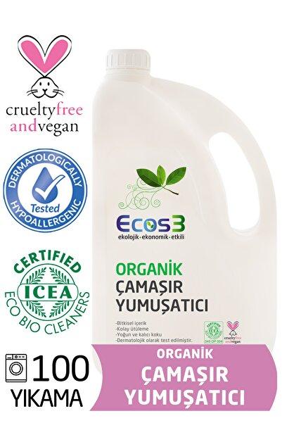 Ecos3 Organik Konsantre Çamaşır Yumuşatıcı 2500 ml - 100 Yıkama