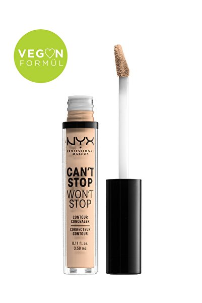 NYX Professional Makeup Kapatıcı - Can't Stop Won't Stop Contour Concealer 6 Vanilla 3.5 ml 800897168582