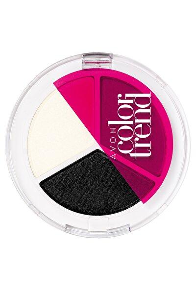 AVON Color Trend 3'lü Göz Farı Plum Power 8681298935490