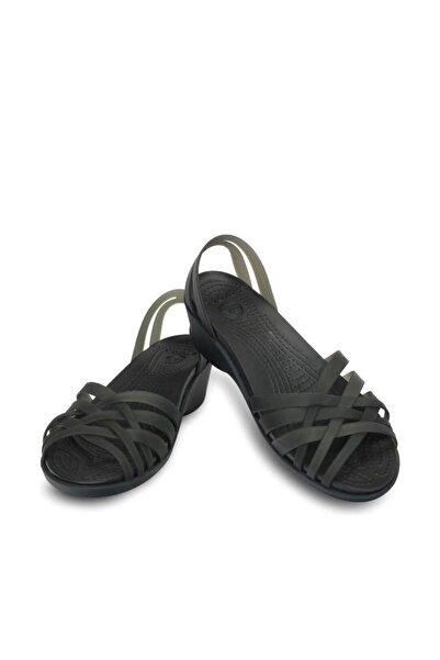 Crocs HUARACHE MINI WEDGE WOMEN Siyah Kadın Sandalet 100528939