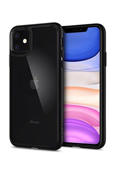 Spigen iPhone 11 Kılıf, Spigen Ultra Hybrid Matte Black