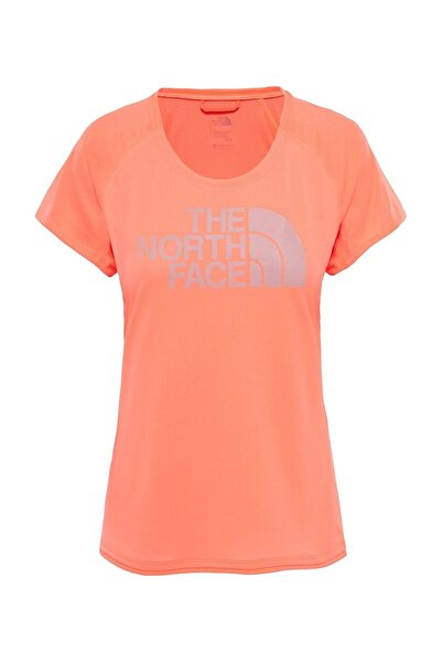 THE NORTH FACE Kadın T-shirt - T93F4Cv5W Flight Btn Ss - T93F4CV5S