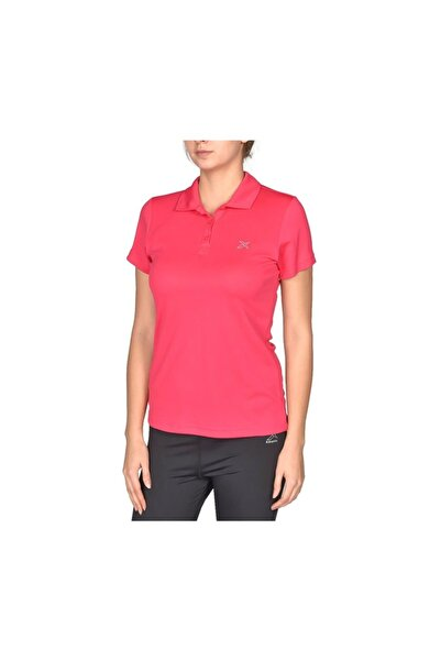 Kinetix Basic Kadın Polo Yaka Pembe Tişört (a100308570)