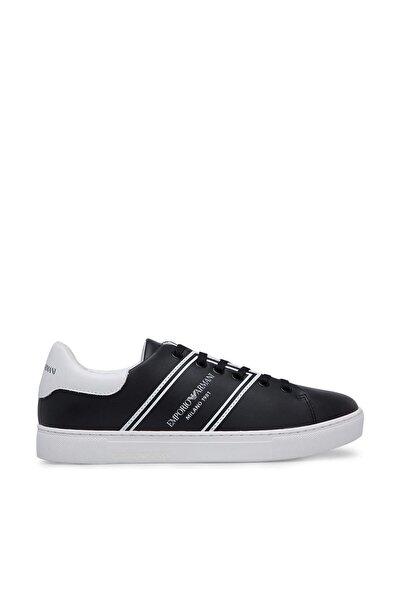 Emporio Armani Kadın Siyah Casual Ayakkabı X3X096 XM090 A120