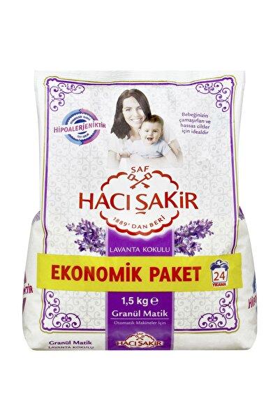 Hacı Şakir Lavanta 37 Yıkama Granül Matik Sabun 1500 g