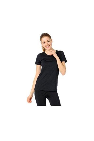 Lotto Soft Tee Pl W Kadın Siyah Tişört (r8226)