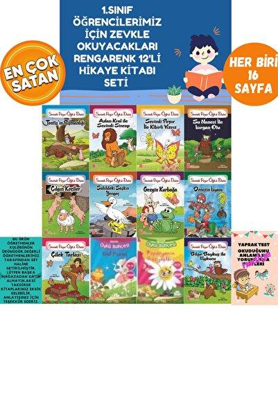 Timaş Yayınları Okumayı Hızlandıran Mükemmel Bir Set(12 Kitaptan Oluşan Rengarenk Hikayeler) Tonguç Evony