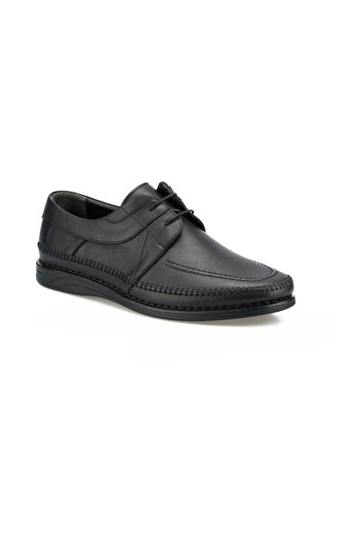 Polaris 5 Nokta 102028.M Siyah Erkek Klasik Ayakkabı 100500652