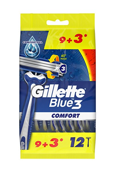 Gillette Gillette Blue 3 Tıraş Bıçağı 9+3