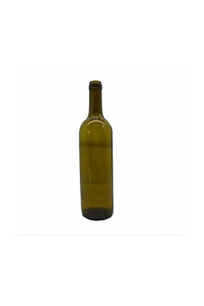 moniev Şarap Şişesi, Mantar Kapaklı Cam Yağ Şişesi 750 ml 12 Adet