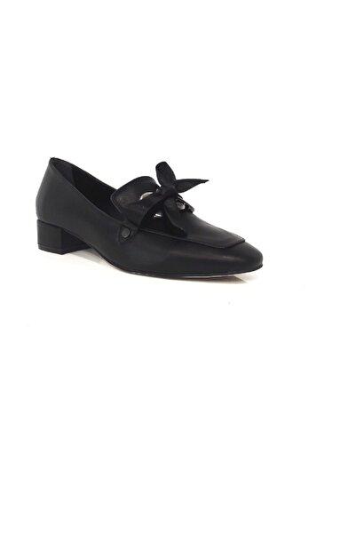 DİVUM Siyah Topuklu Ayakkabı