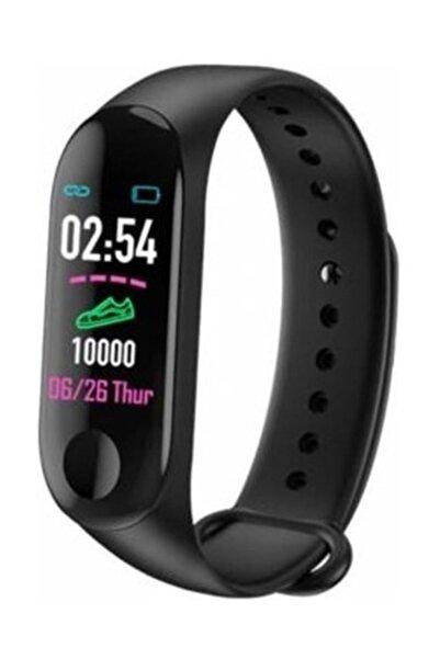 vippaket M3 Bluetooth Akıllı Bileklik Saat Dijital Ekran Universal