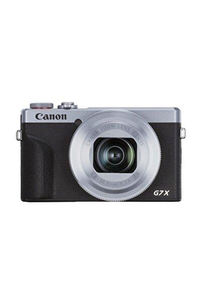 Canon PowerShot G7 X Mark III Gümüş Fotoğraf Makinesi (Canon Eurasia Garantili)