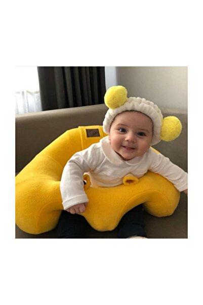 BEBEYATMAZ Bebe Yatmaz Bebek Oturma Destek Minderi Bebek Koltuğu Sarı