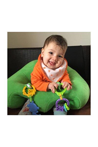 BEBEYATMAZ Bebe Yatmaz Bebek Oturma Destek Minderi Bebek Koltuğu Yeşil
