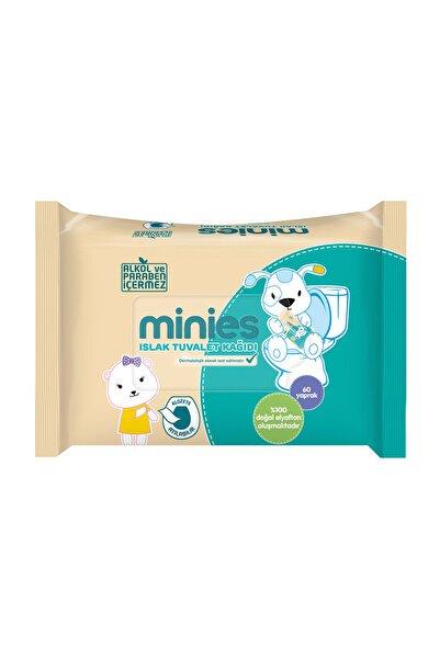 Minies Islak Tuvalet Kağıdı 60'Lı