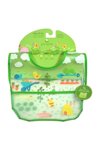 iplay Su Geçirmez 9-18 Ay Eva Kumaş Bebek Cırtlı Mama Önlüğü, 2'li Paket