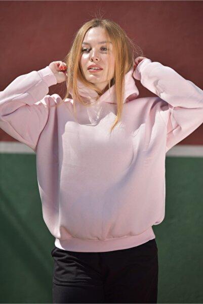 FIRENZE Basic Unisex Bebek Pembesi Oversize Sweatshirt