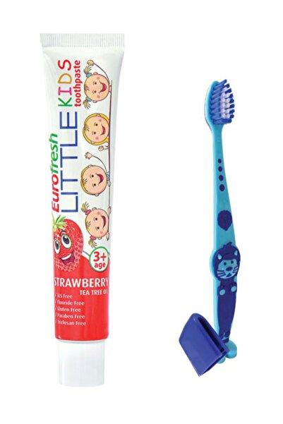 Farmasi 3 Yaş Ve Üzeri Çocuk Diş Macunu 50 Gr + Diş Fırçası Mavi