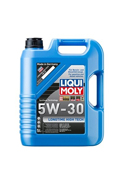 Liqui Moly Lıquı Moly Longtıme Hıgh Tech 5w-30 Motor Yağı 5lt / 2020üretimi