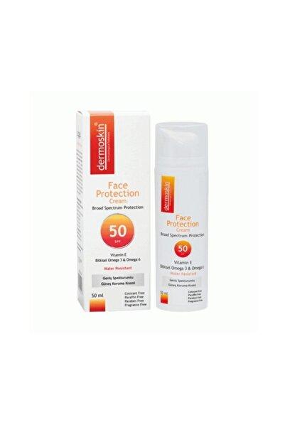 Dermoskin Face Protection Vitamin-e Güneş Koruyucu Krem Spf50 50 ml
