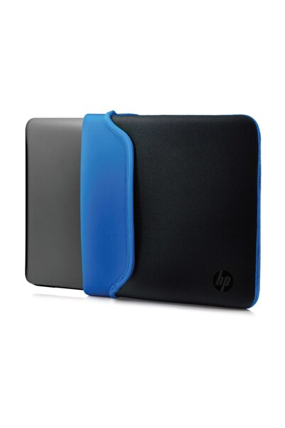HP V5c31aa 15.6 Neopren Çevrilebilir Notebook Kılıf Siyah/mavi